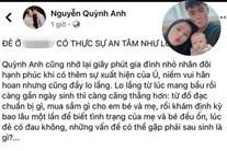 Vợ khoe đẻ tại BV Quốc tế sang chảnh, sao Duy Mạnh lại check in ở Phụ sản Hà Nội?