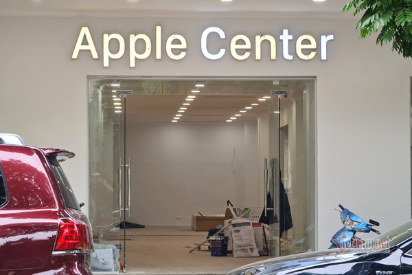 Apple stores appeared on the