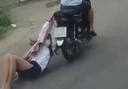 Cướp giật táo tợn kéo lê cô gái trên đường phố Sài Gòn
