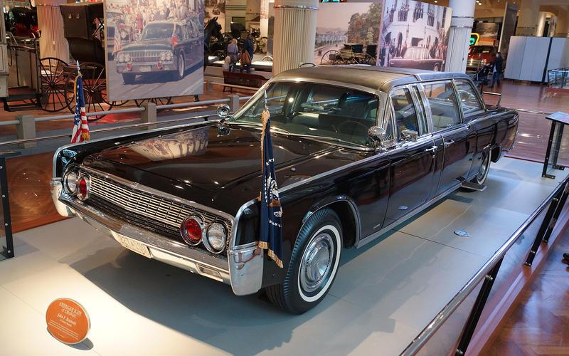Chiêm ngưỡng xe hơi của các đời Tổng thống Mỹ