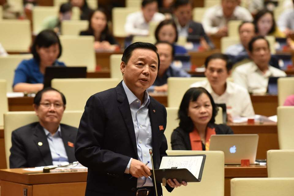 Bộ trưởng TN-MT Trần Hồng Hà lên tiếng về dự án lấn biển Cần Giờ