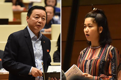 """ĐBQH Ksor H'Bơ Khắp  chất vấn Bộ trưởng TN-MT về """"ông trời và rừng"""""""