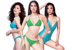Hoa hậu Tiểu Vy, Á hậu Phương Nga, Thúy An diễn bikini trên runway dài 40m
