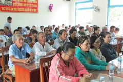 NTM Ninh Thuận: Đào tạo nghề để giữ vững tiêu chí thu nhập
