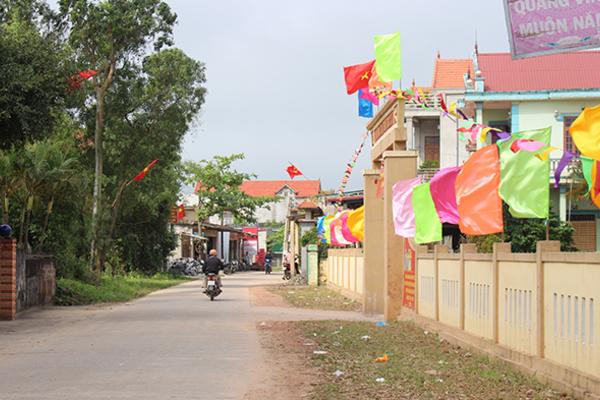 Trái ngọt từ nông thôn mới ở Quảng Bình