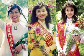 Chuyện 'ly kỳ' ít biết về 3 hoa hậu danh giá đầu tiên của Việt Nam