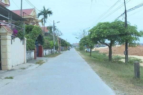 Xã Thanh Trạch: Vươn tới đích nông thôn mới nâng cao