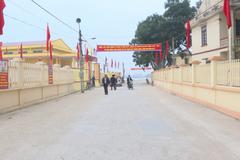 Gia Viễn tăng tốc xây dựng huyện nông thôn mới