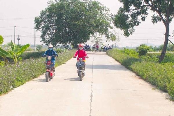 Những miền quê nông thôn mới kiểu mẫu ở Hà Nam