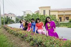 """NTM Bắc Ninh: """"Làng ba sạch"""", đường thôn, ngõ xóm phủ đầy hoa"""