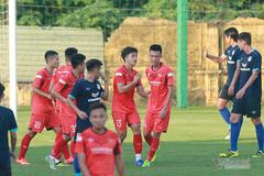 U22 Việt Nam thắng dễ quân xanh hạng Nhất