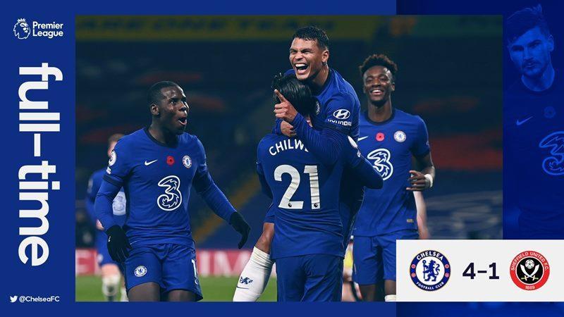 Xem video bàn thắng Chelsea 4-1 Sheffield