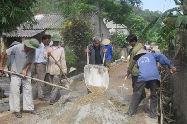 Đồng lòng xây dựng NTM, Hồng Lộc đang đổi thay từng ngày