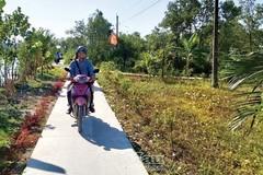 Tân Trung quyết tâm nâng chất các tiêu chí xây dựng nông thôn mới