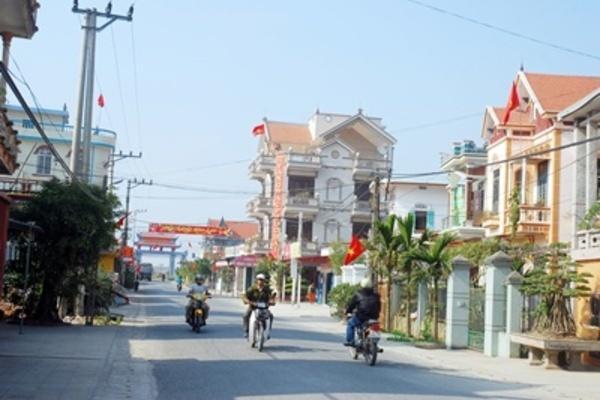 Tập trung vào tiêu chí văn hóa, nông thôn mới Giao Thủy ngày càng mới
