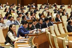 Quốc hội phê chuẩn miễn nhiệm và bổ nhiệm nhân sự Bộ trưởng 3 ngành
