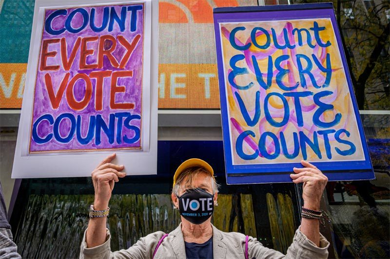 Những điều đặc biệt làm nên lịch sử của cuộc bầu cử tổng thống Mỹ 2020