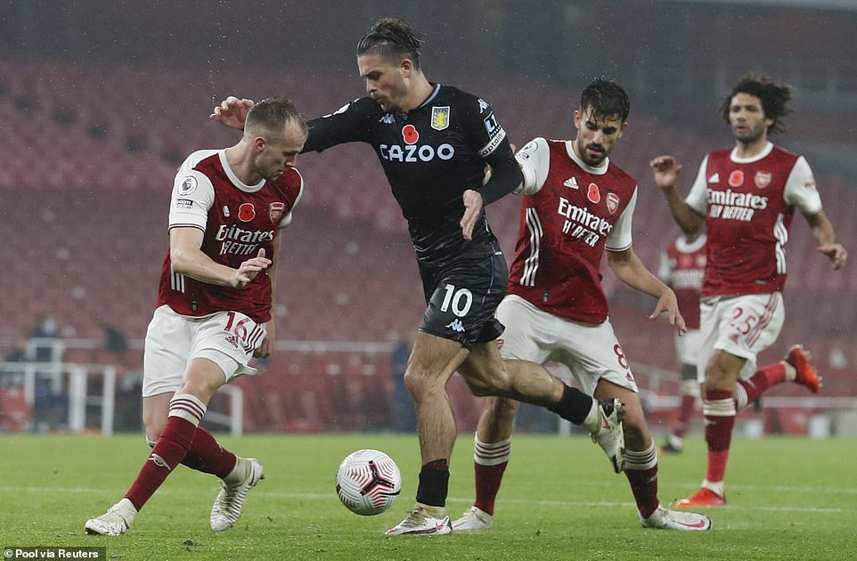 Xem video bàn thắng Arsenal 0-3 Aston Villa
