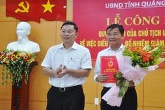 Quảng Nam điều động, bổ nhiệm 3 giám đốc Sở
