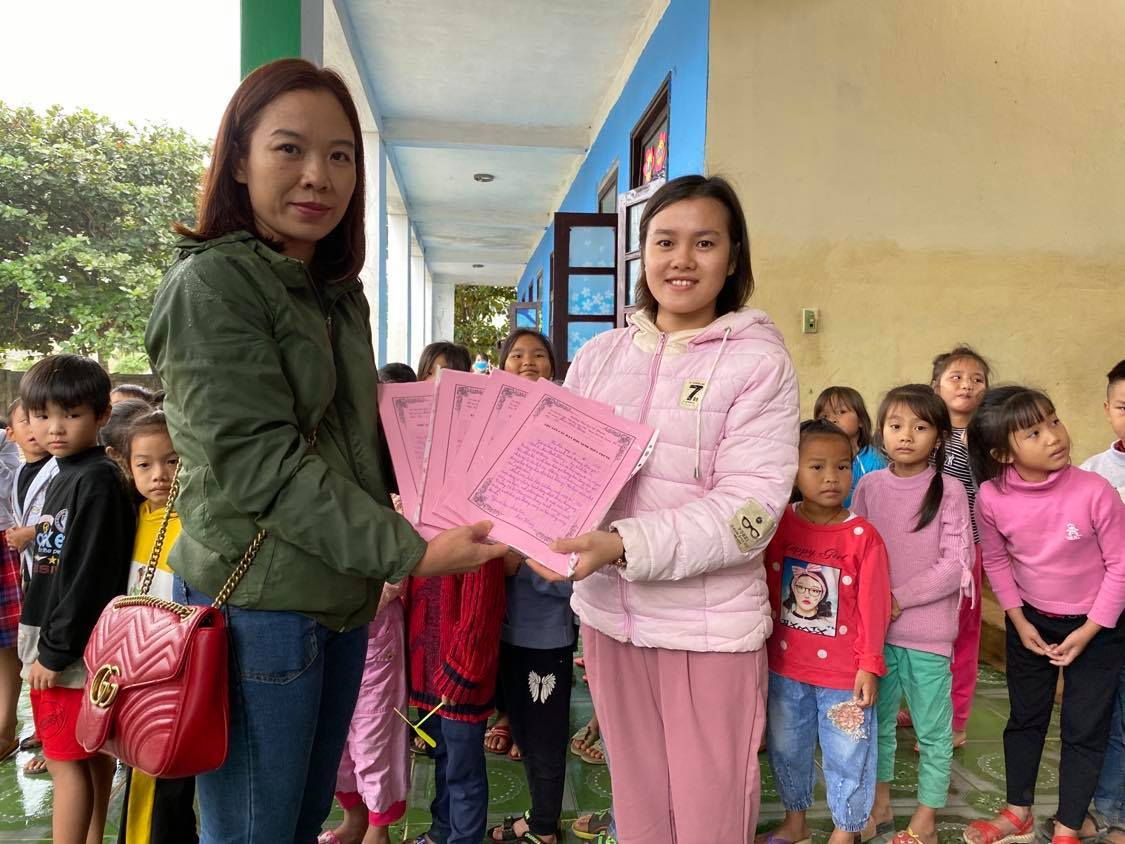 Lá thư yêu thương học sinh Hà Nội gửi tới các bạn miền Trung
