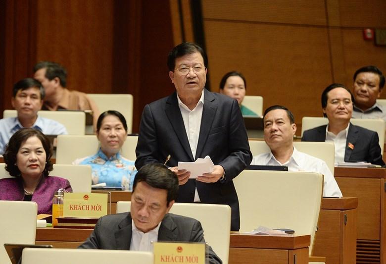 Phó Thủ tướng nói về khả năng thành lập Bộ Tình trạng khẩn cấp