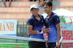 Superb Hoang Nam claimed champion at national tennis tournament