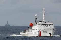 China's Coast Guard bill: 'a test' for the new US President