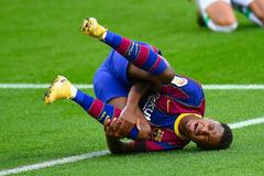 Barcelona nhận tin sét đánh chấn thương Ansu Fati