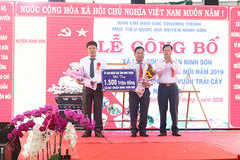 Xã Lâm Sơn cán đích chuẩn nông thôn mới
