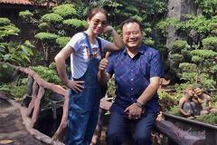Hôn nhân hạnh phúc của NSND Quốc Trượng và vợ kém 13 tuổi