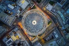 Những tòa nhà ấn tượng nhất thế giới khi chụp từ trên cao