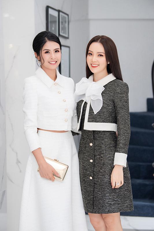 Hoa hậu Ngọc Hân: 'Thuỵ Vân có nhiều điểm để tôi học hỏi'