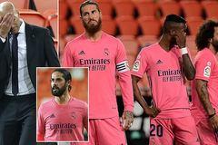 Cầu thủ Real Madrid sốc với quyết định 'phũ' của Zidane