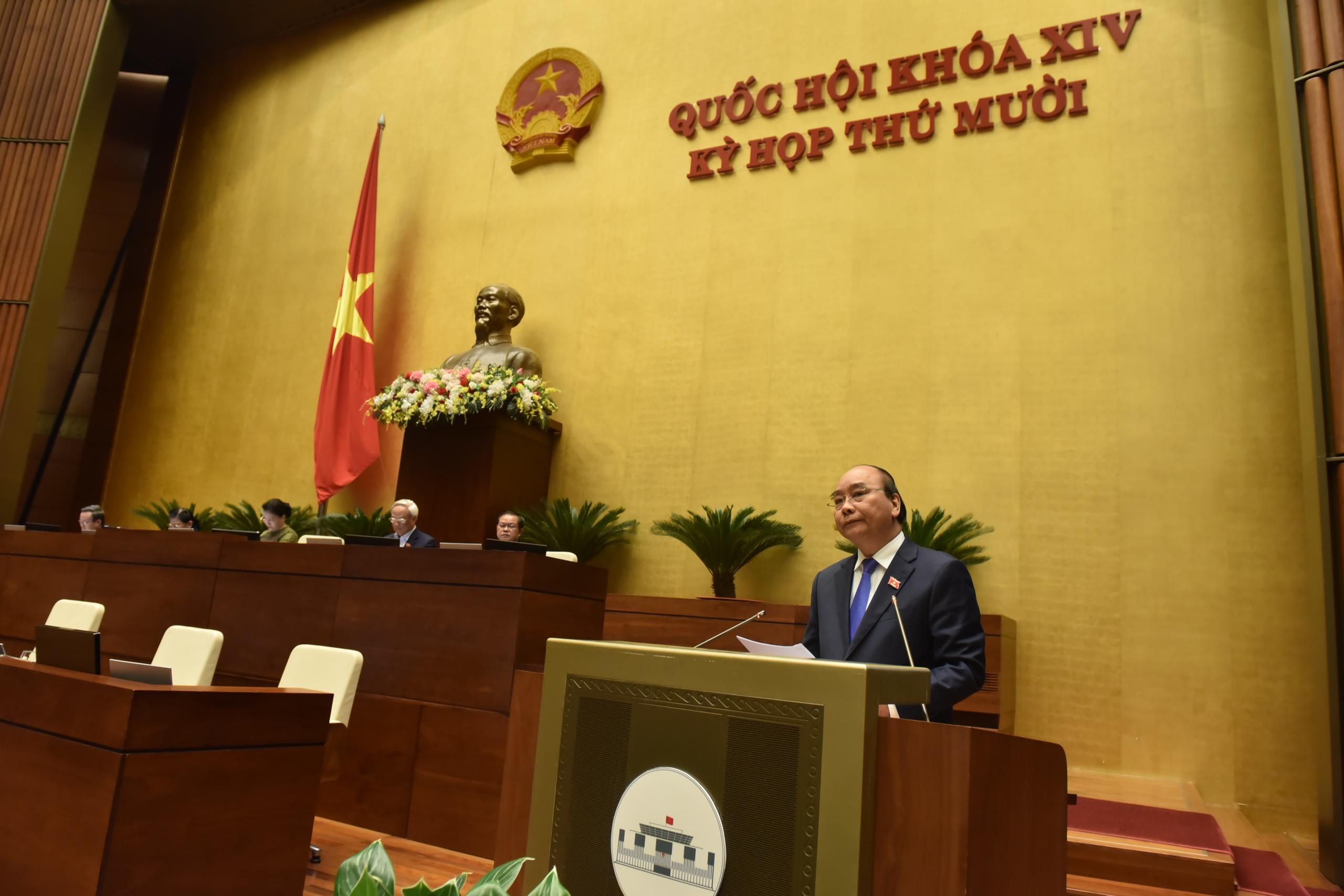 Chủ tịch Quốc hội 'chấm điểm' các thành viên Chính phủ trả lời chất vấn