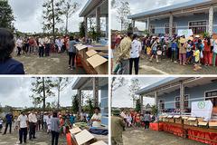 Phòng khám Đa khoa miền Trung chung tay hỗ trợ người dân vượt khó khăn