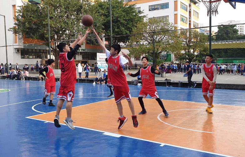 32 đội bóng tranh tài tại giải bóng rổ học sinh THCS