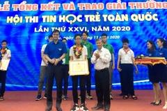 Gần 200 thí sinh tranh tài Hội thi Tin học trẻ toàn quốc 2020