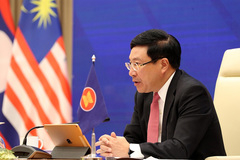 Foreign ministers reiterate ASEAN's resolve to resume East Sea negotiations