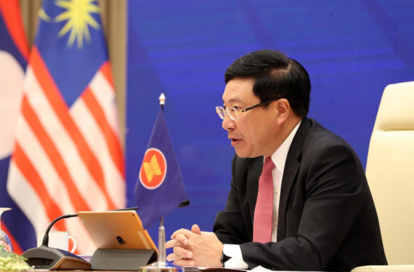 East Sea,ASEAN foreign ministers