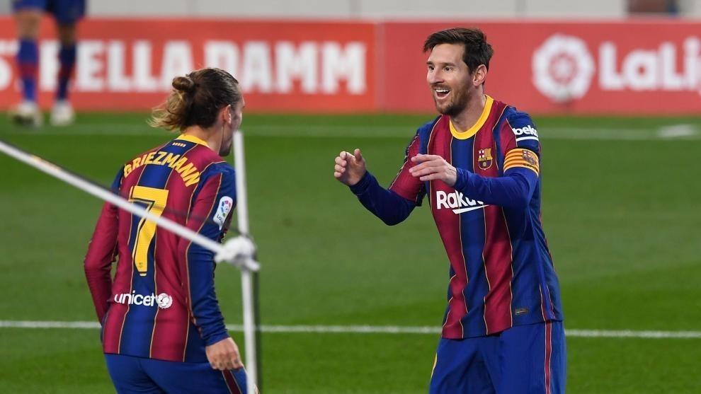 Messi bị tố 'đàn áp' Griezmann, là ung nhọt của Barca - VietNamNet