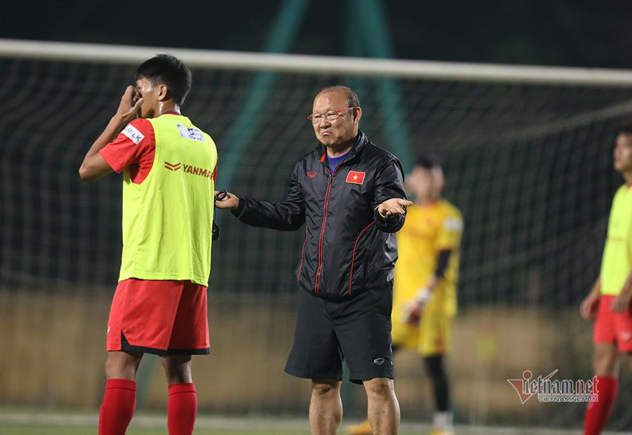 Thầy Park nổi giận với cầu thủ U22 Việt Nam