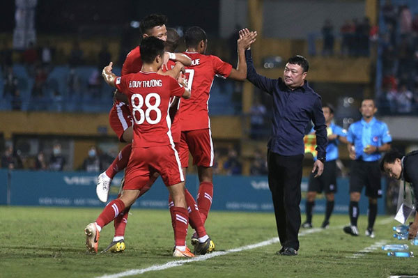 Viettelcoach Hoang revels in side's rebirth