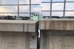 Sự cố trượt dầm cầu metro số 1, phát hiện gối cao su nhẹ hơn thiết kế