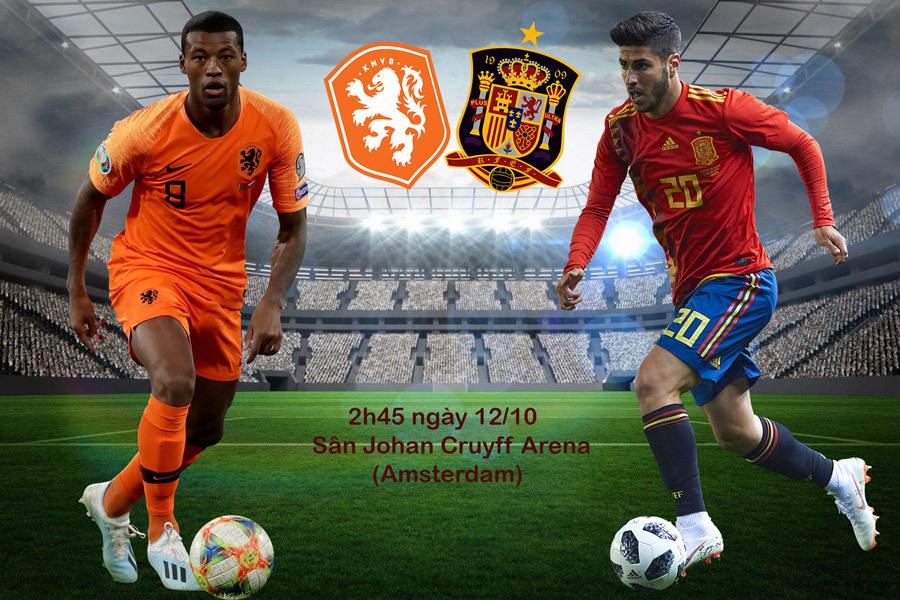 Nhận định Hà Lan vs Tây Ban Nha: Khách lấn chủ