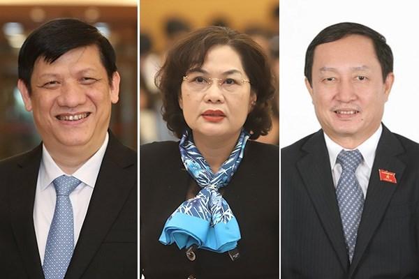 Thủ tướng trình Quốc hội phê chuẩn bổ nhiệm 3 Bộ trưởng, trưởng ngành mới