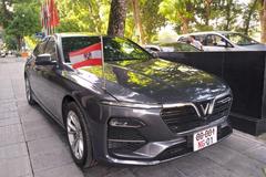 Đại sứ quán Áo chọn VinFast Lux A2.0 làm xe công vụ