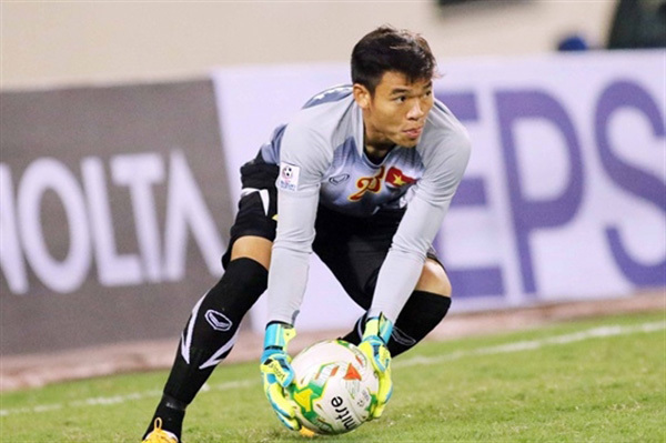 Goalkeeper Tran Nguyen Manh,vietnam football,v-league
