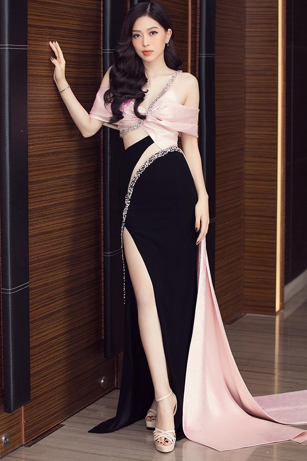 Dàn người đẹp rực rỡ thảm đỏ họp báo chung kết Hoa hậu VN 2020