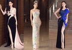 Dàn người đẹp rực rỡ thảm đỏ dự họp báo chung kết Hoa hậu VN 2020