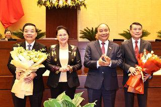 Quốc hội phê chuẩn miễn nhiệm Bộ trưởng KH-CN, Thống đốc NHNN